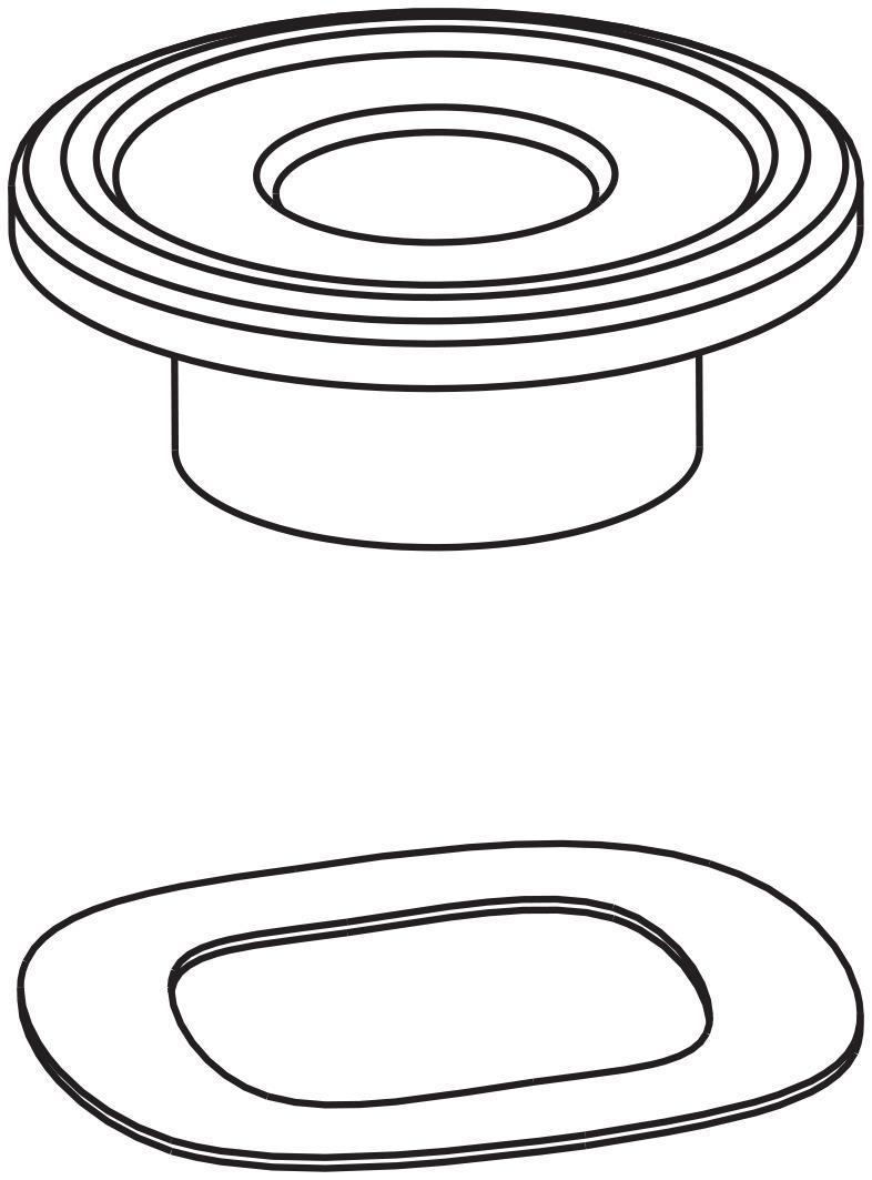 Brembo Bevestigingsset voor 5mm remschijf