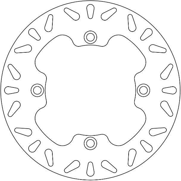 Ferodo Remschijf (FMD0027R)