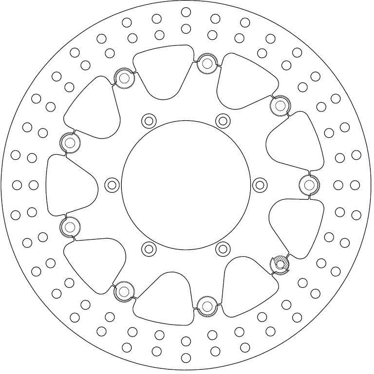 Ferodo Remschijf (FMD0038RF)