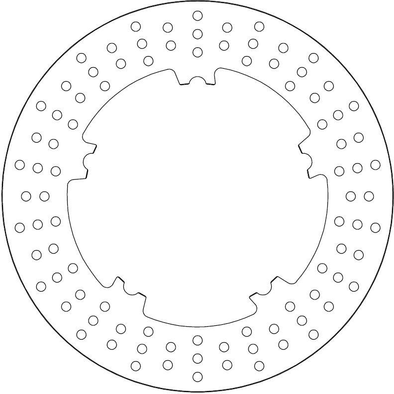 Ferodo Remschijf (FMD0431R)