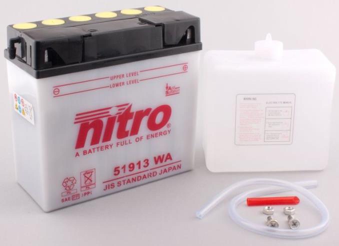 Nitro Accu 51913 conventioneel met zuur
