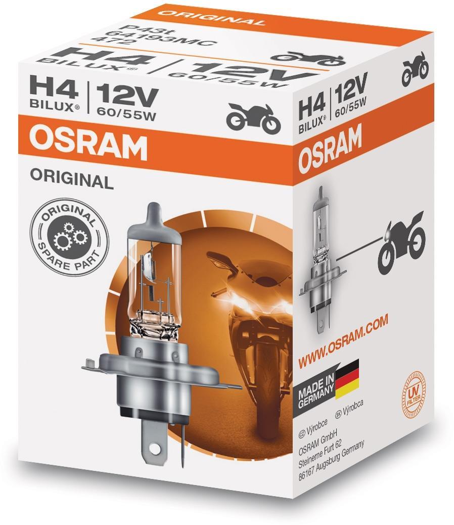 Osram lamp 12V 60/55W H4 STANDARD (10 stk)