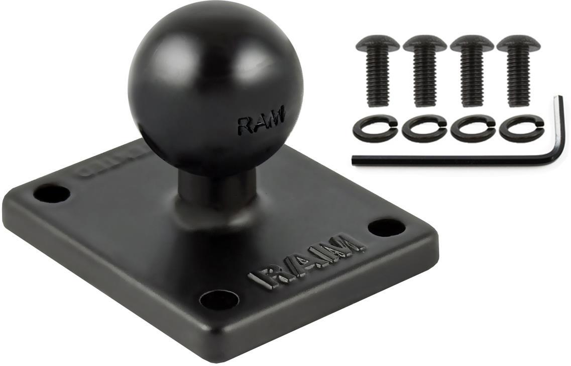 Ram Mounts 2X 1.7' Base With 1' Ball (RAM-B-347U-TOM1)