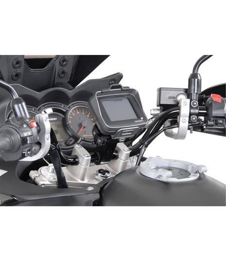 SW-Motech GPS Houder met 28mm stuurbuis klem