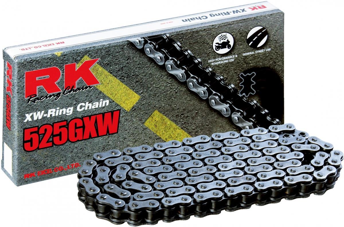 RK 525GXW 114 CLF ketting (klinkschakel)