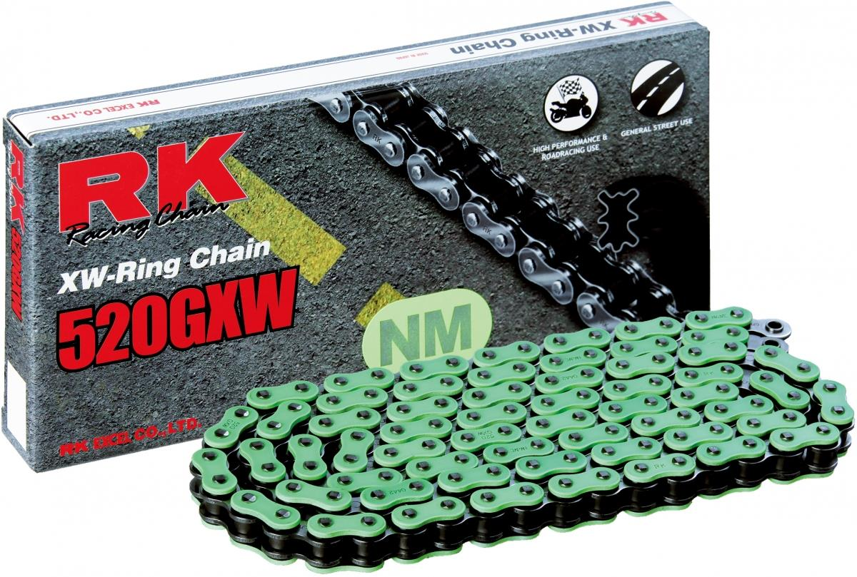 RK NM520GXW 114 CLF ketting (klinkschakel) GREEN