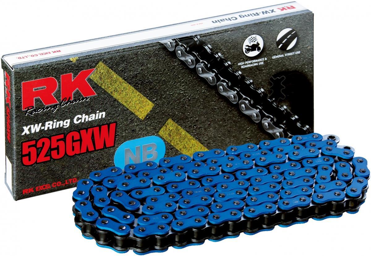RK NB525GXW 114 CLF ketting (klinkschakel) BLUE