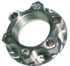 Gilles ACM achterwielmoer (titanium) M25X1.5
