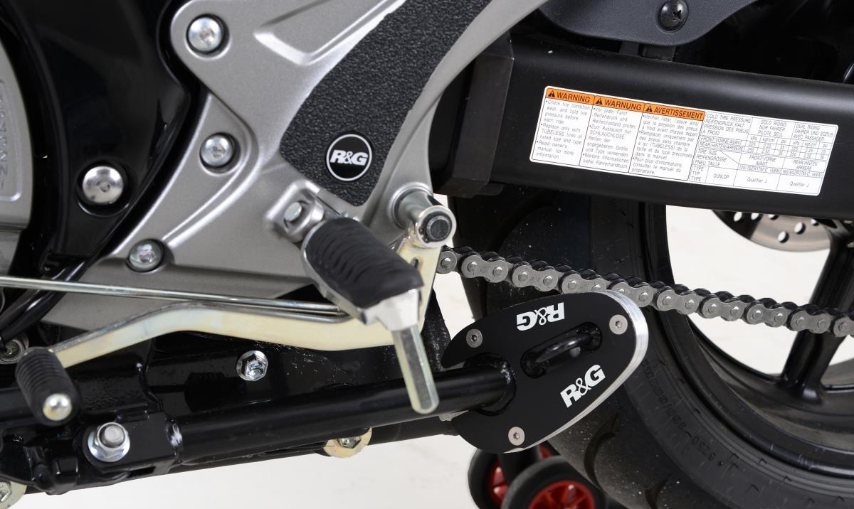R&G zijstandaard voet (Gladius 650 D 2013)