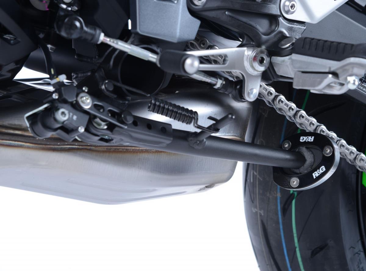R&G zijstandaard voet (Ninja 650 H 2017 / Z 650 J 2018 / Z 900 H 2017)