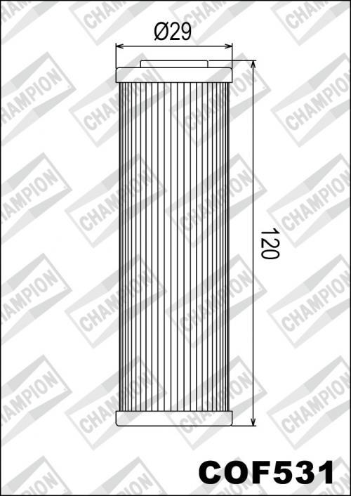 Champion Oliefilter Beta RR350 - RR520 COF531