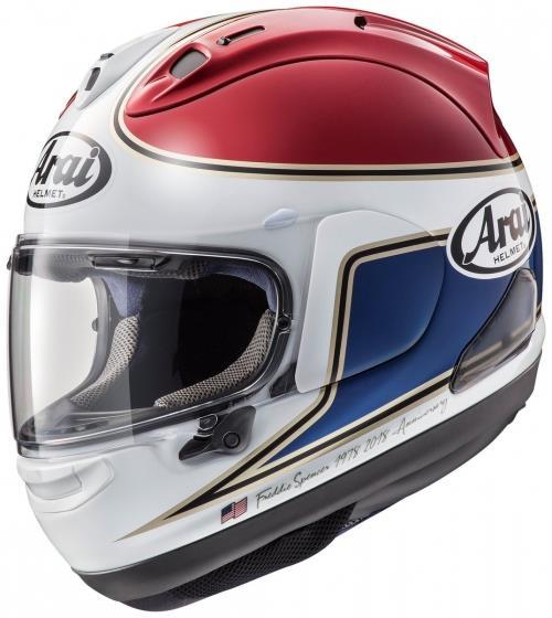 Arai RX-7 V Spencer 40th Replica helm