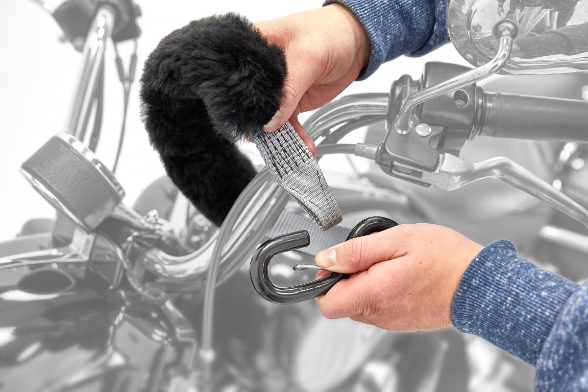 Acebikes Tie Down met Deluxe spanband