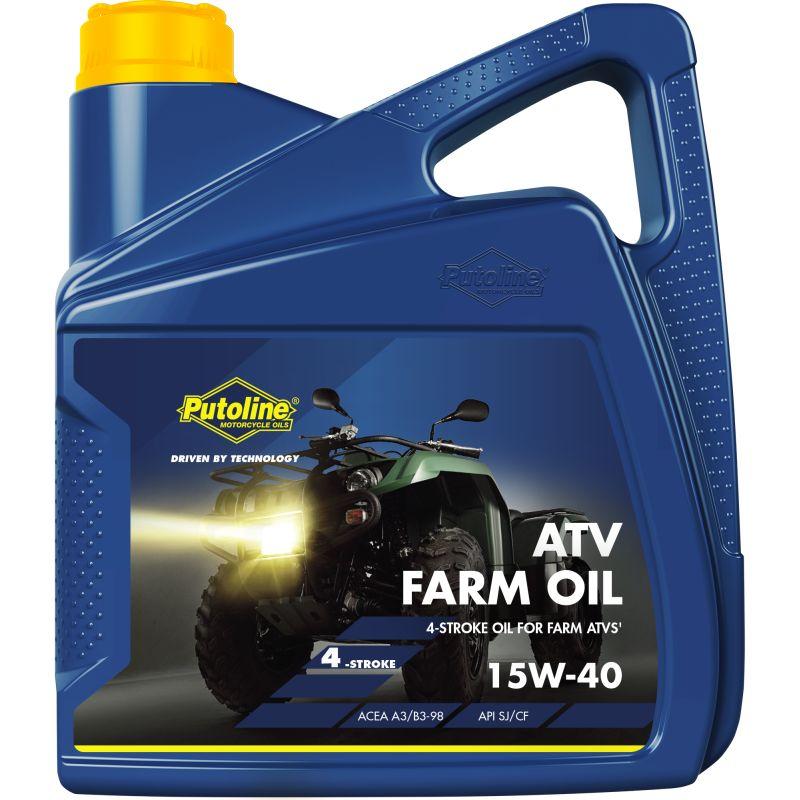 Putoline ATV Farmer Olie 15W-40 4LTR motorolie
