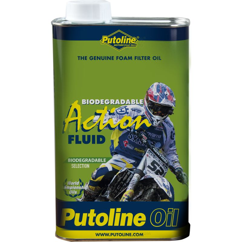 Putoline Bio Action Fluid 1L luchtfilterolie