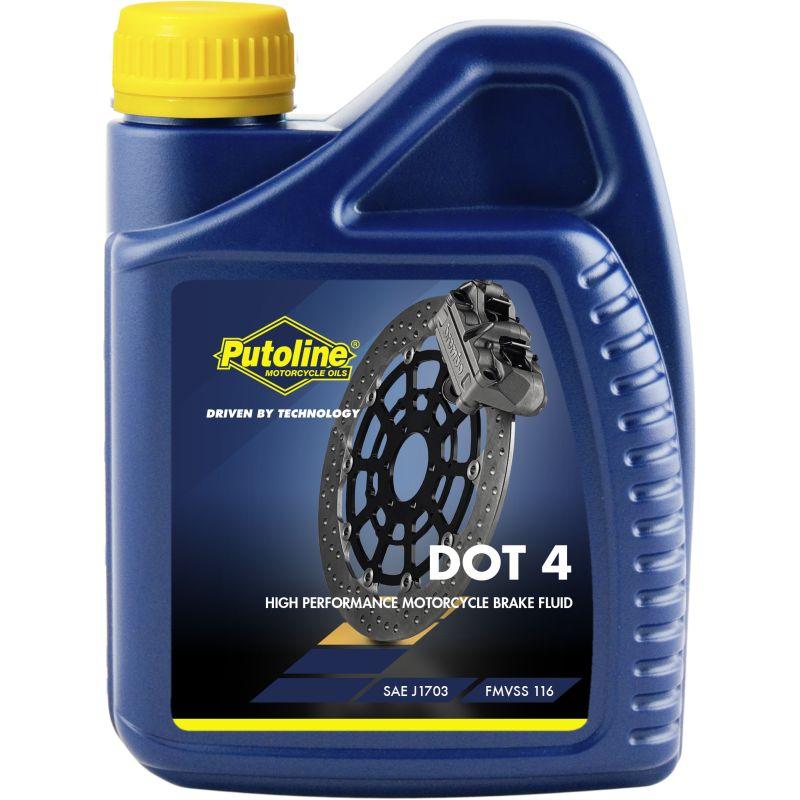 Putoline DOT 4 500ML remvloeistof