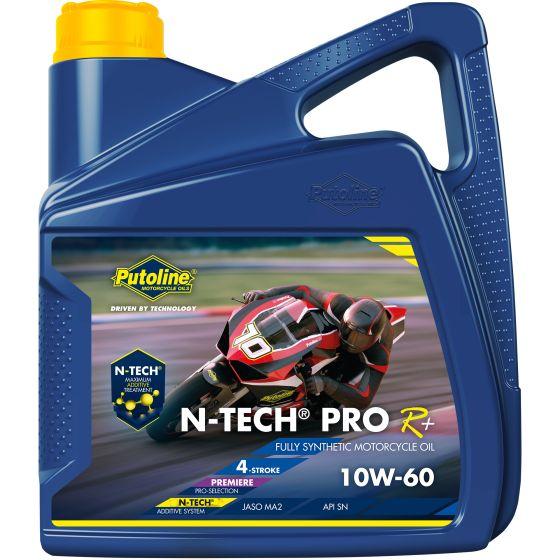 Putoline N-Tech Pro R+ 10W-60 4L motorolie