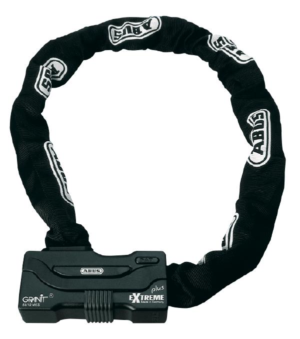 Abus Granit Extreme Plus 59 Ketting-Slot combinatie KS110