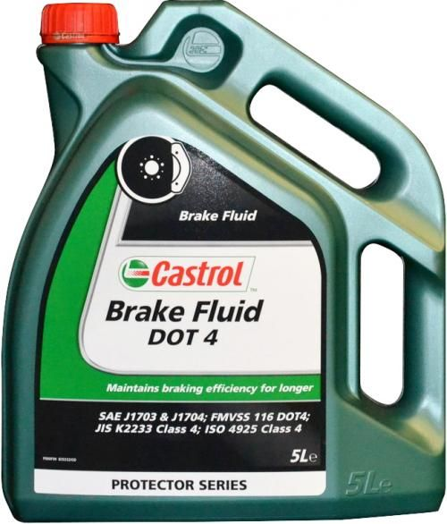 Castrol Response DOT 4 remvloeistof (5 liter)