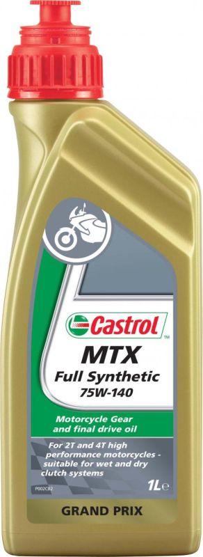 Castrol 75W-140 MTX Full Synthetic olie (1 liter)