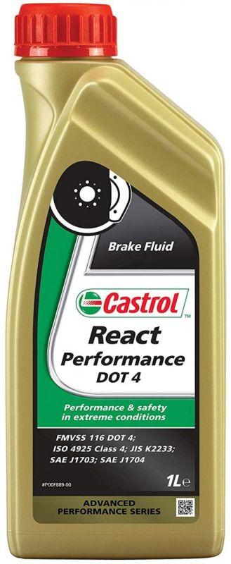Castrol React Performance Dot 4 remvloeistof (1 liter)