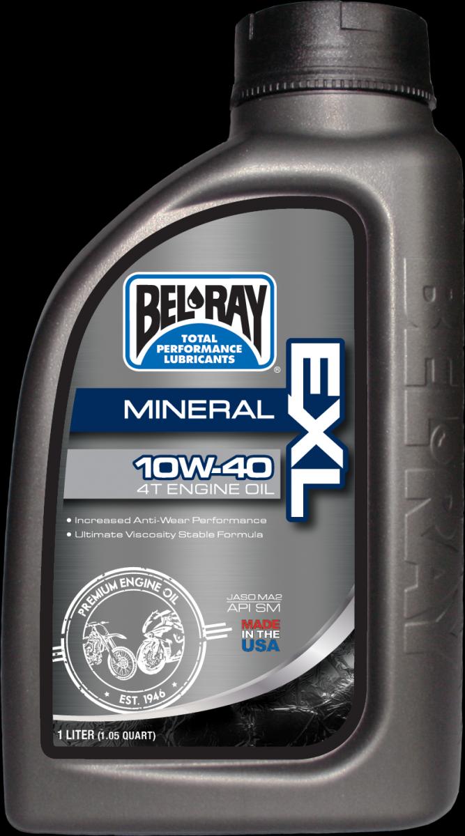 Bel-Ray EXL Mineral 4T 10W-40 motorolie (1L)
