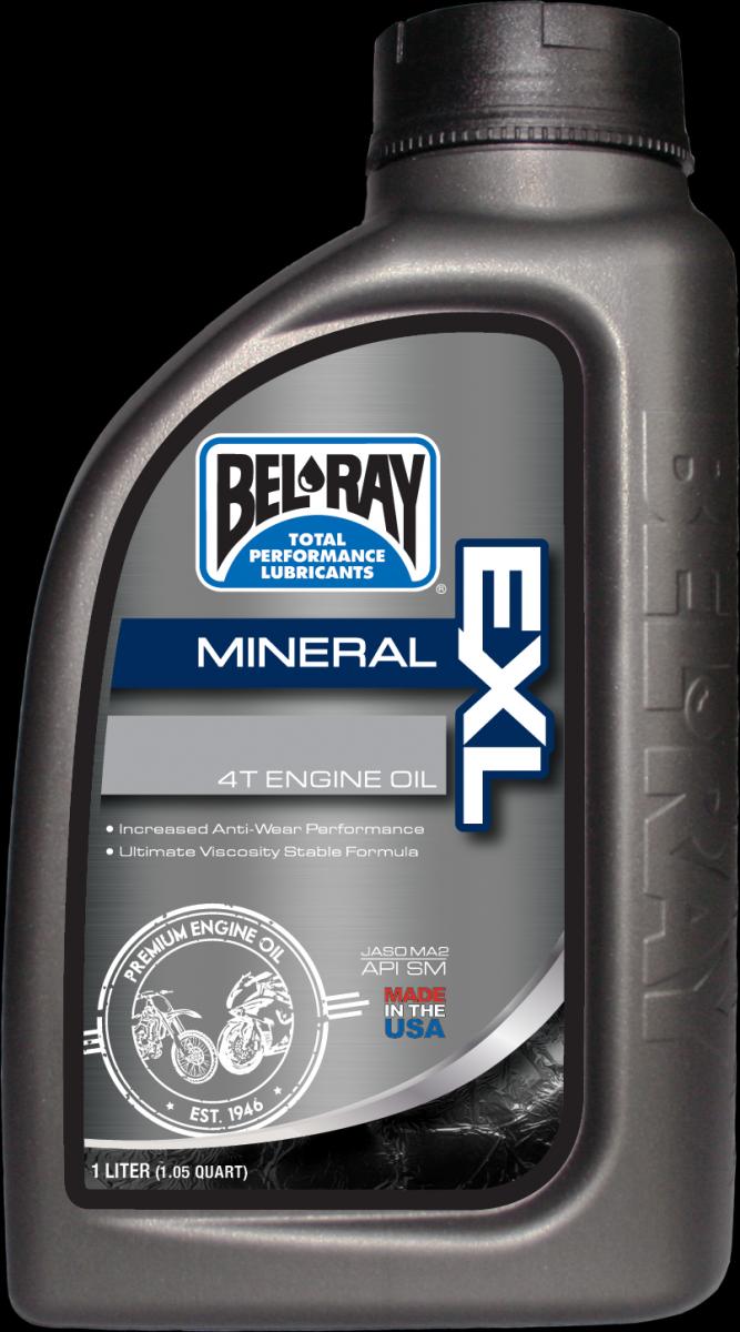 Bel-Ray EXL Mineral 4T 20W-50 motorolie (1L)