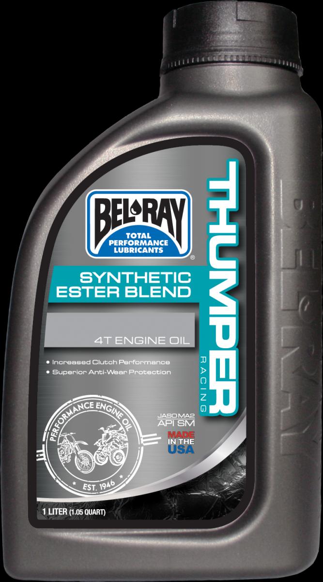 Bel-Ray Thumper Racing Synthetic Ester Blend 4T 10W-40 motorolie (1L)