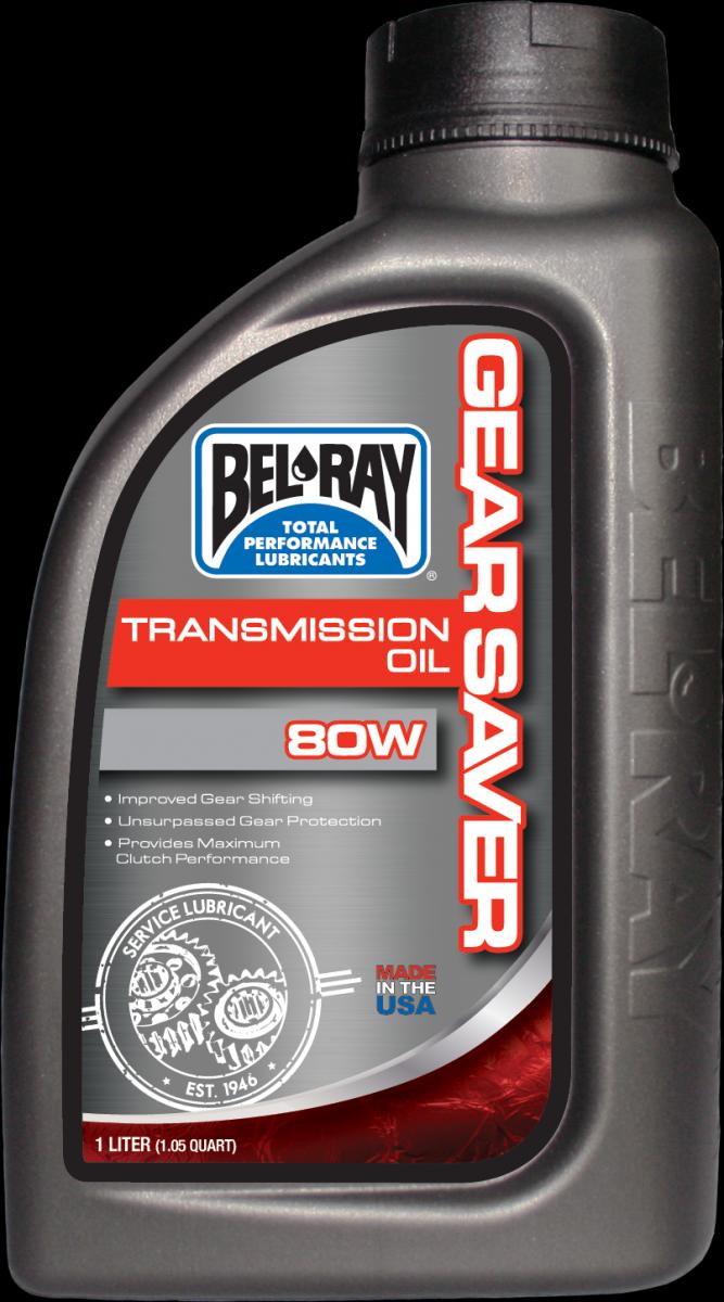Bel-Ray Gear Saver 80W transmissie olie (1L)