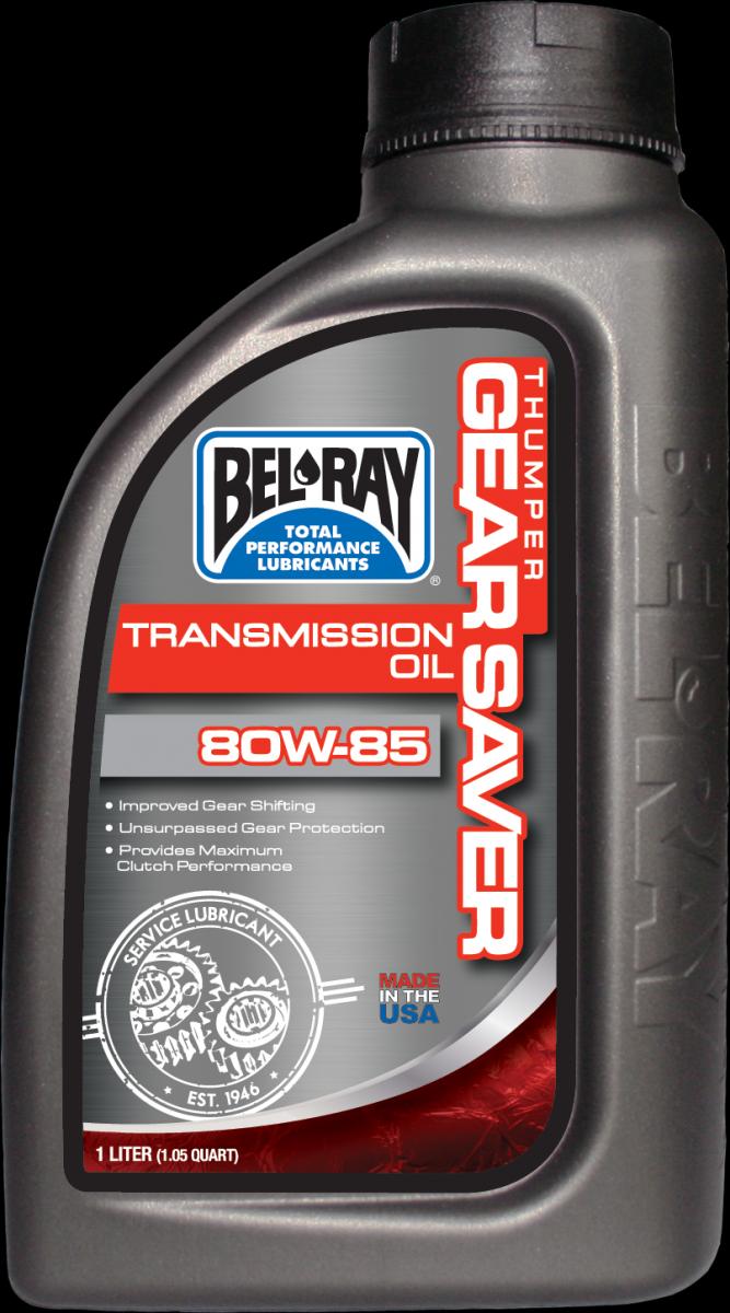 Bel-Ray Thumper Gear Saver 80W85 transmissie olie (1L)