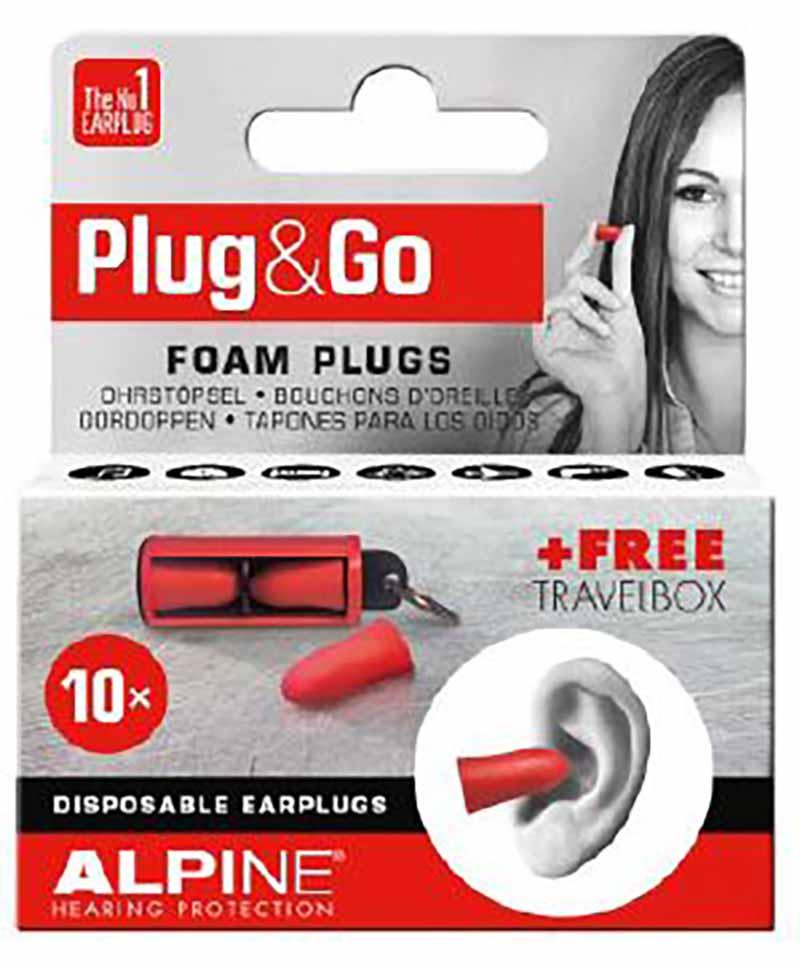 Alpine MotoSafe Plug&Go gehoorbescherming
