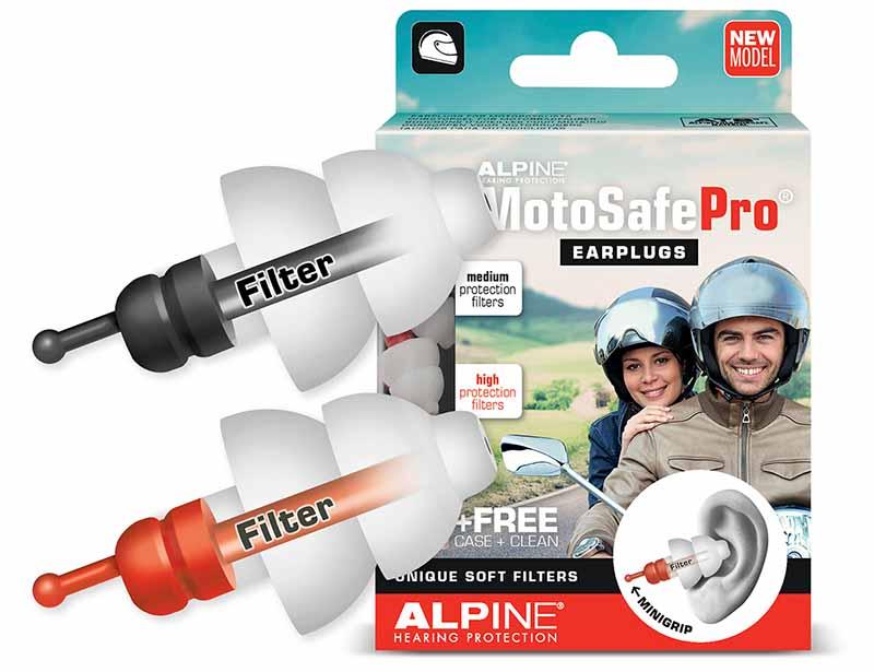 Alpine Motosafe Pro gehoorbescherming