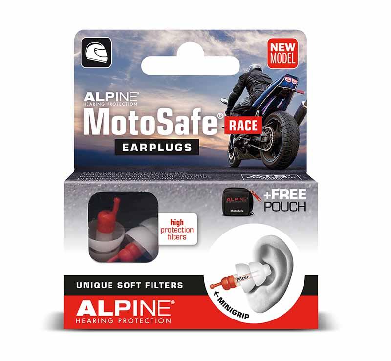 Alpine Motosafe Race gehoorbescherming