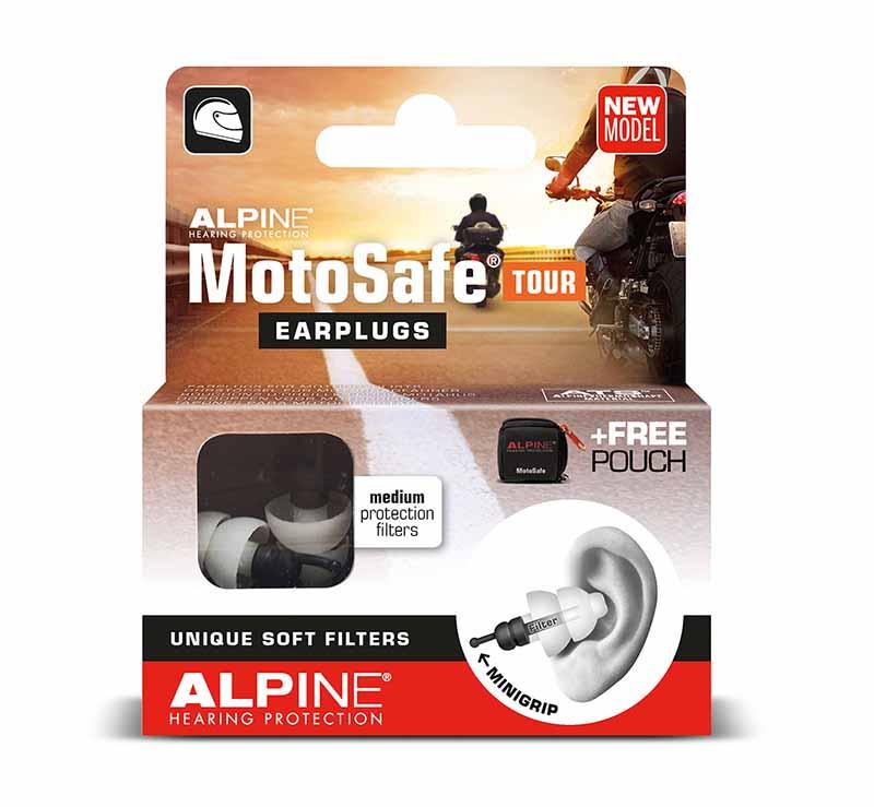 Alpine Motosafe Tour gehoorbescherming