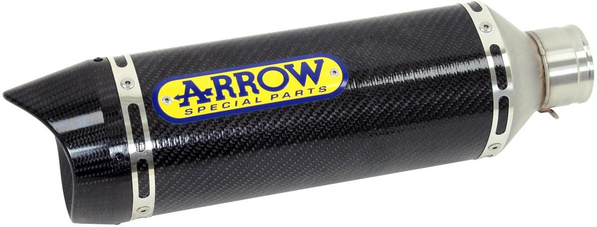 Arrow uitlaatdemper street thunder (aluminium + carbon eindkapje)