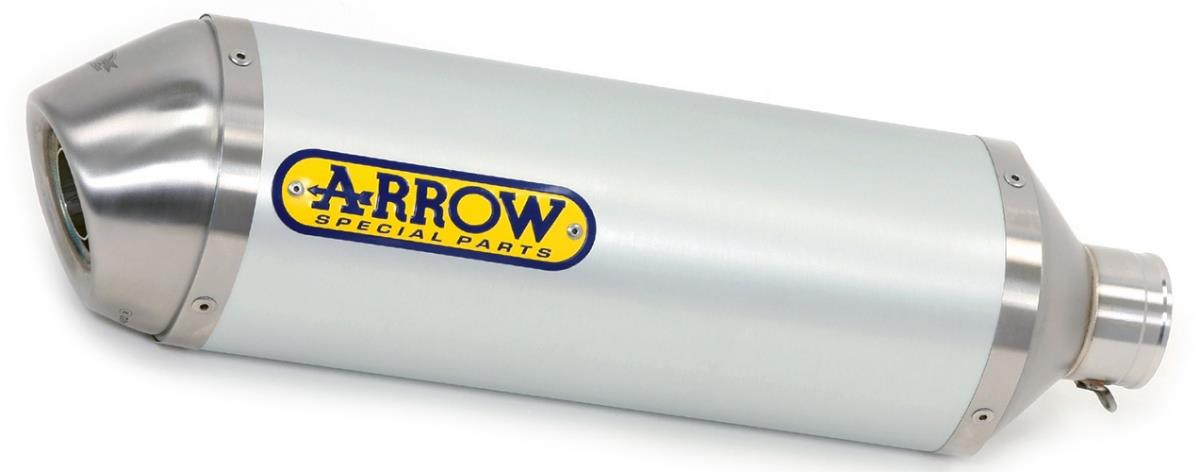 Arrow Race-Tech Aluminium White uitlaatdemper
