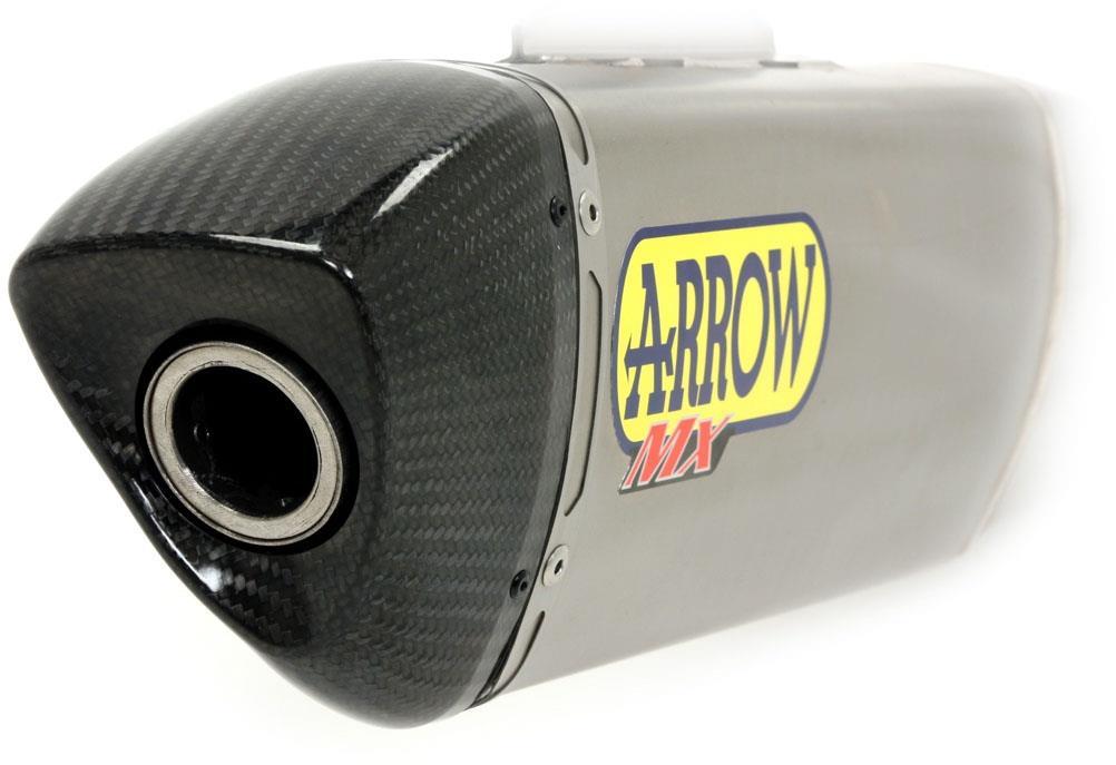 OFF-ROAD MX COMP FULL SYSTEM, CARBON END CAP