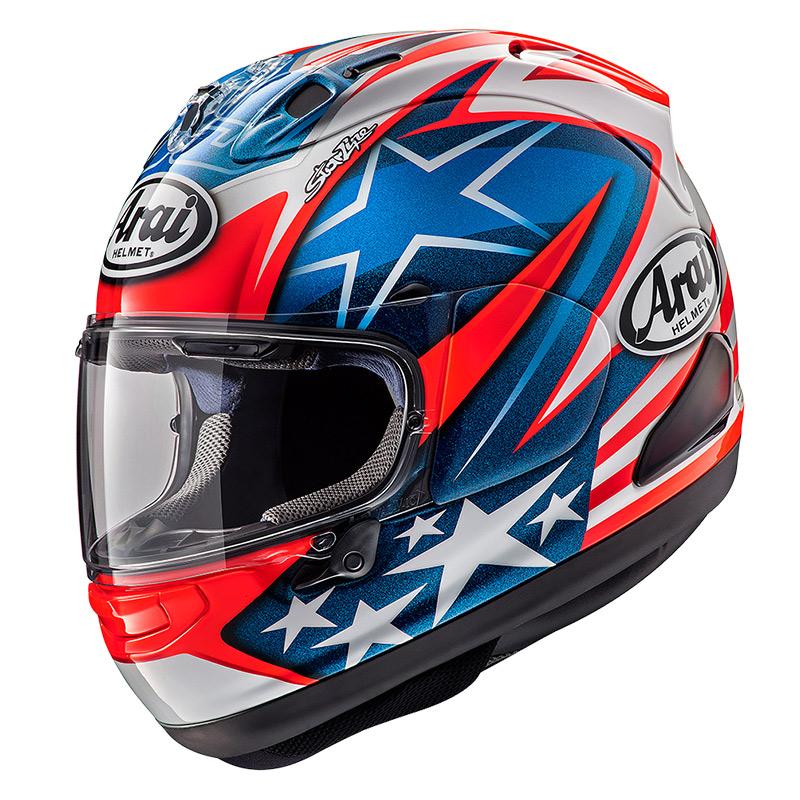 Arai RX-7 V Hayden WSBK Replica helm