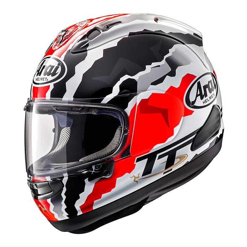 Arai RX-7 V Doohan TT helm