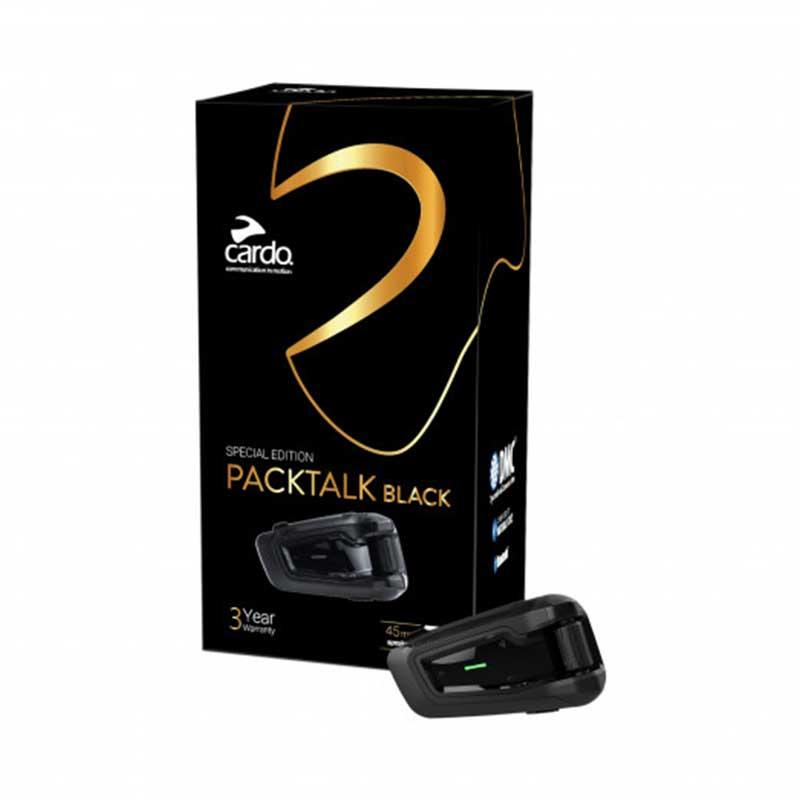 Cardo Packtalk Black Edition communicatie systeem