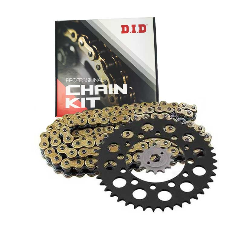 DID Kettingkit Gold & Gold Chain Ducati 1000GT 07-09 / 1000M 04-05 / 1000 Sport 07-09