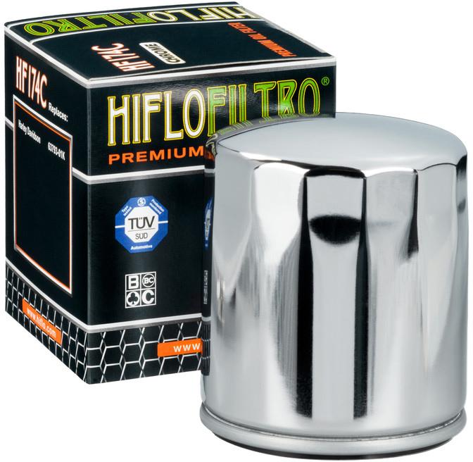 Hiflo Oliefilter HF174C (Chrome)