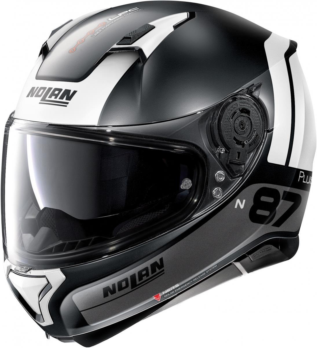 Nolan N87 P Disinctive motorhelm