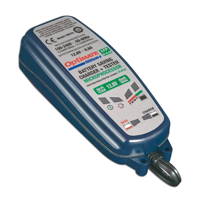 Tecmate Optimate Lithium 0.8A Druppellader/ Acculader