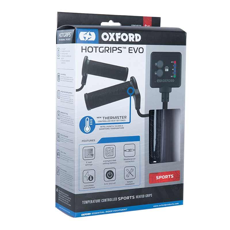 Oxford EVO Sport handvatverwarming (114 - 123mm)