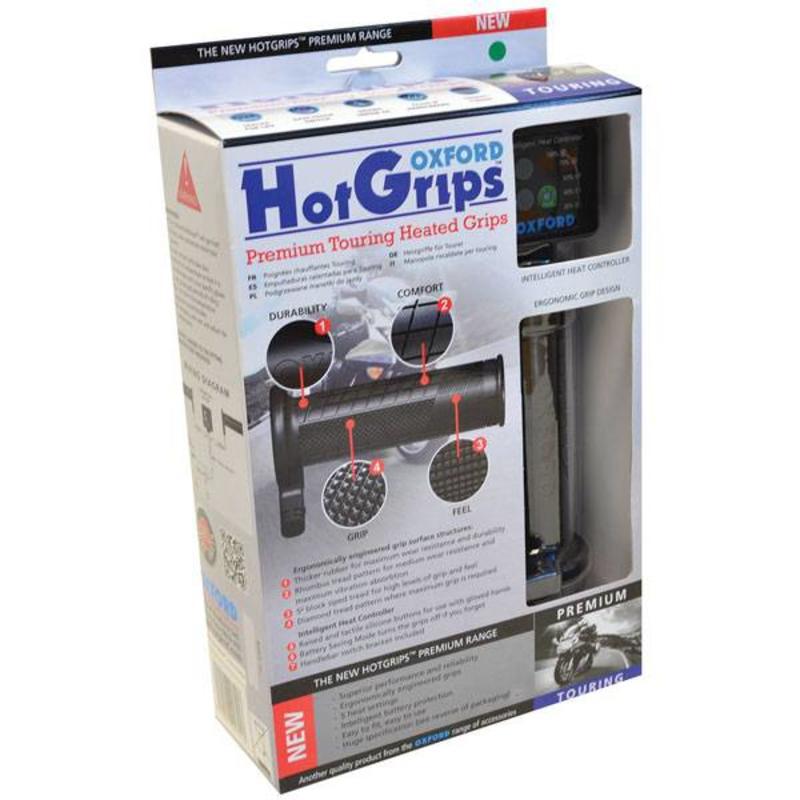 Handvatverwarming Oxford Sport premium hotgrips (114 - 123MM)