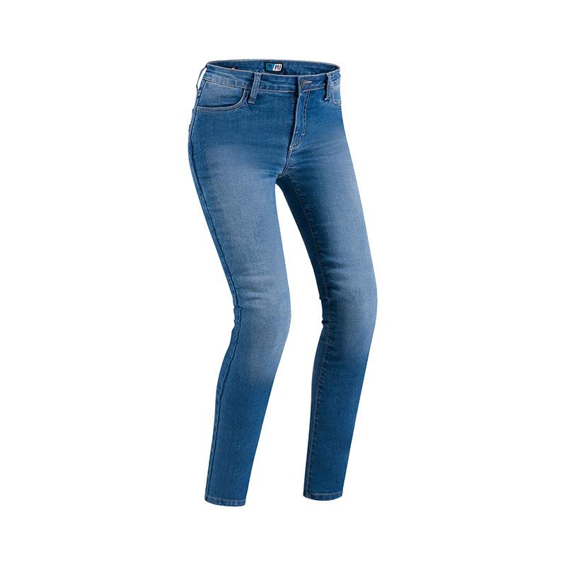 PMJ Skinny Lady Twaron dames motorjeans (slim-fit)