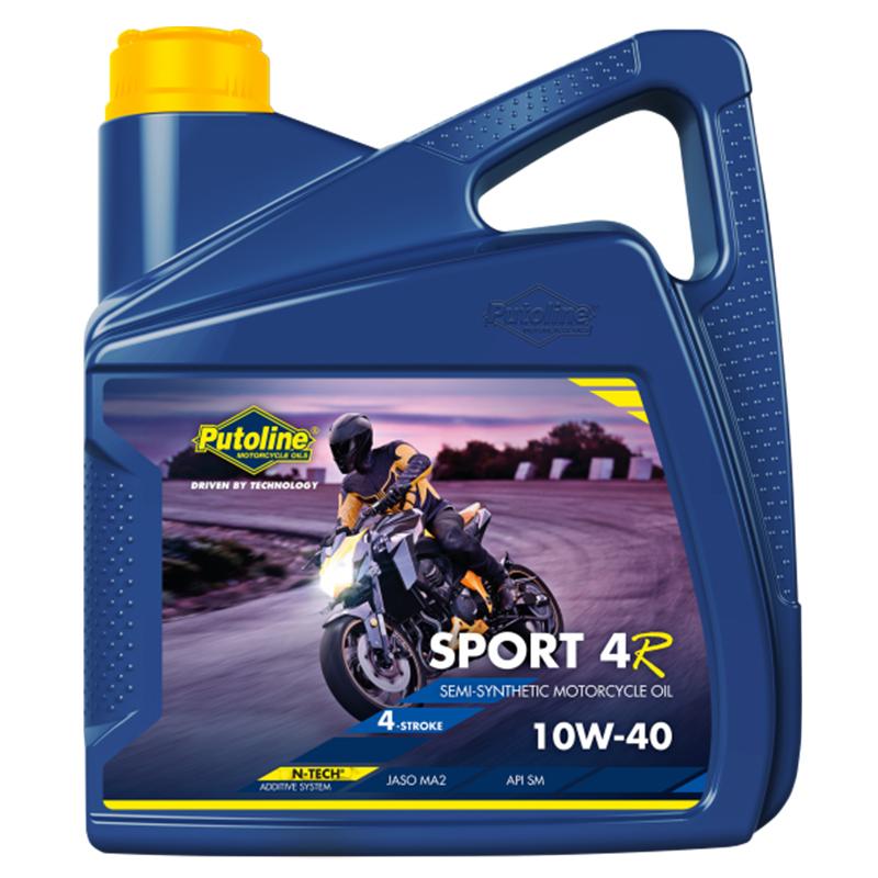 Putoline Sport 4R 10W-40 4L motorolie