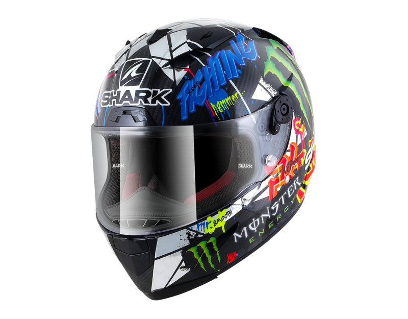 Shark Race-R Pro Carbon Lorenzo Catalunya GP motorhelm M (SALE)
