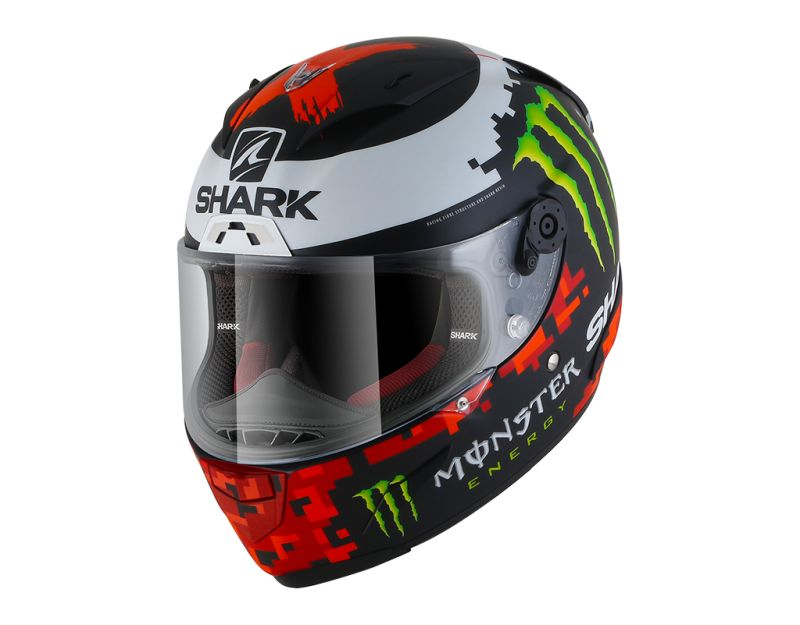Shark Race-R Lorenzo Monster Mat 2018 motorhelm XL (SALE)